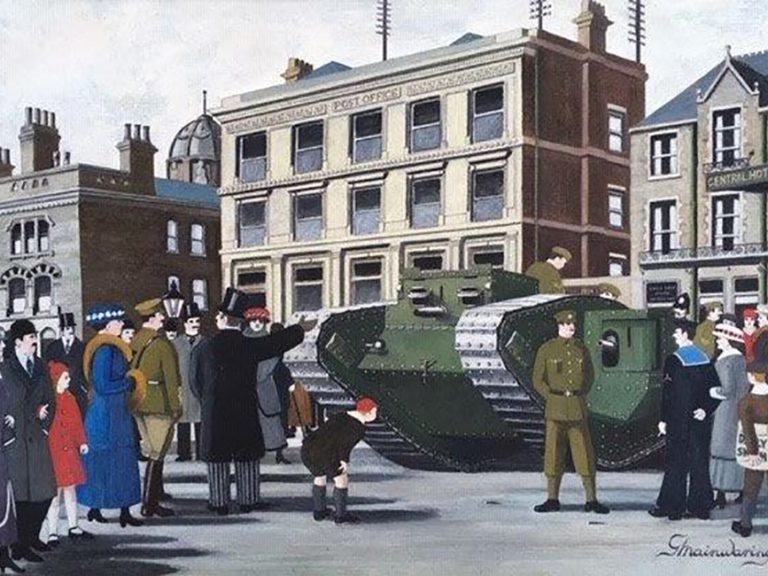 Monster Than Inspired A Memorable War Effort - George Mainwaring – Rochdale Artist