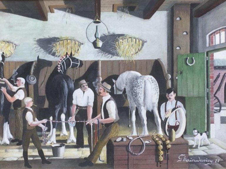 Its First O May Tomorn - George Mainwaring – Rochdale Artist
