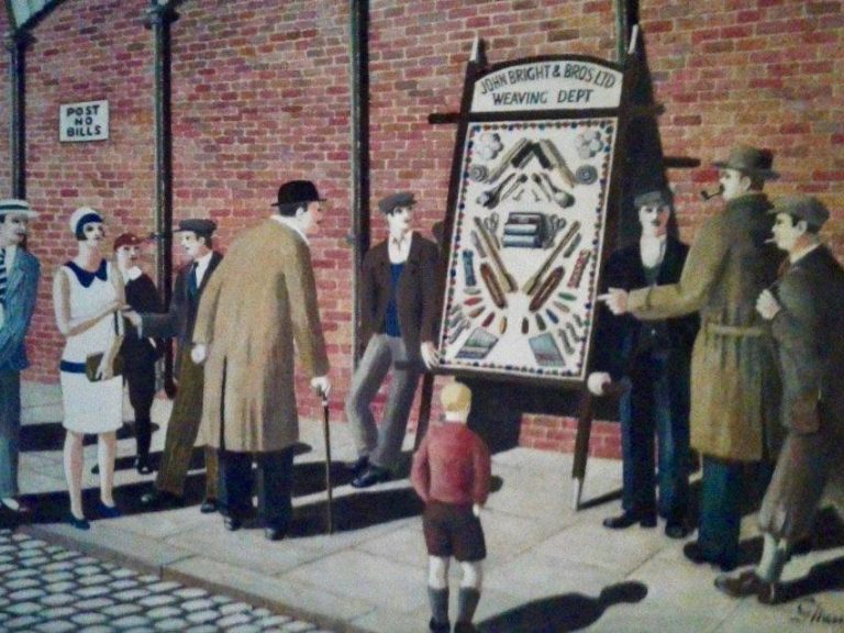The Pack Sheet - George Mainwaring – Rochdale Artist