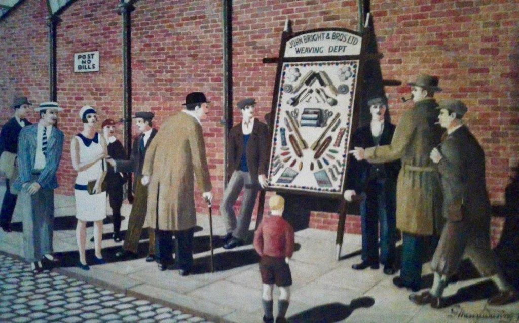 The Pack Sheet - George Mainwaring – Rochdale Artist