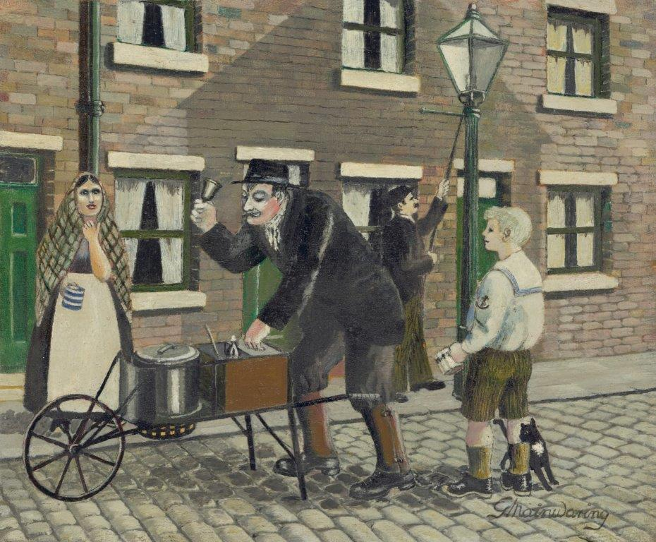 Bill Fox, The Black Pea Man (2) - George Mainwaring – Rochdale Artist