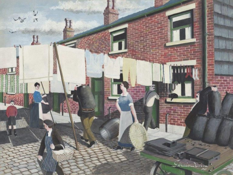 Look Out Ethel Clumsys Here Again - George Mainwaring – Rochdale Artist