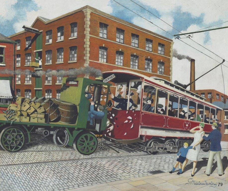 John Street Accident 1925 - George Mainwaring – Rochdale Artist