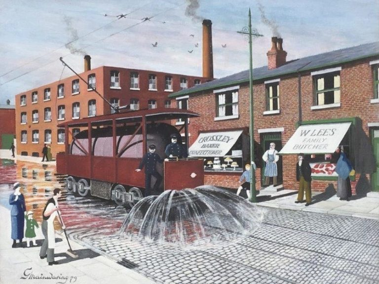 Well At Least Itll Settle Dust - George Mainwaring – Rochdale Artist
