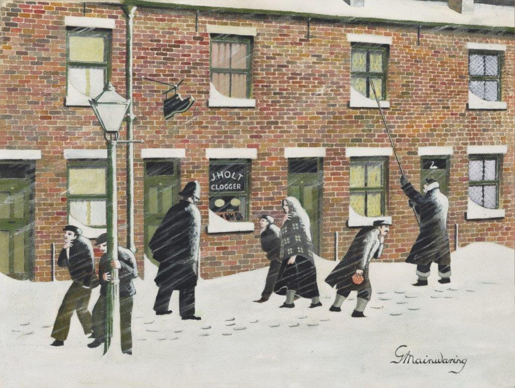 Come On Annie Its Gone Half Past - George Mainwaring – Rochdale Artist
