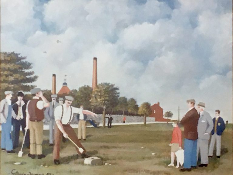 John Tommy Chadwick, The Champ Action (2) - George Mainwaring – Rochdale Artist