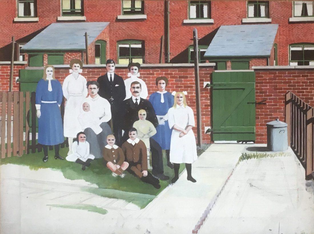 Family Portrait 92 Whitehall Street - George Mainwaring – Rochdale Artist