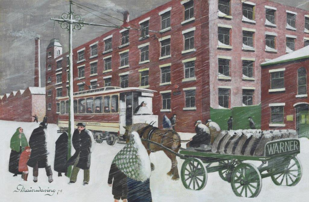 Yes Theyre All Running Late This Morning Luv - George Mainwaring – Rochdale Artist